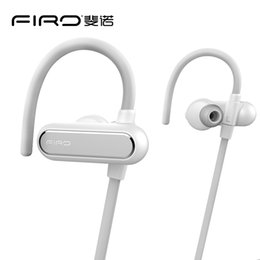 Wholesale Phone Headset Two Ear - High Quality CSR8640 Bluetooth 4.1 Earphone Firo S3 Noise Cancelling Sport Studio Headset Connected Two Phones With Mic 8 Hours Playing