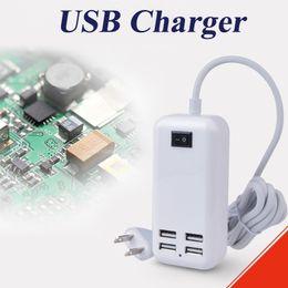2019 зарядное устройство для ноутбука 15 вт Адаптер USB мощность 15W USB зарядное устройство 4 порта Универсальное зарядное устройство микро USB зарядки синхронизации док-станция зарядное устройство OTH313 дешево зарядное устройство для ноутбука 15 вт