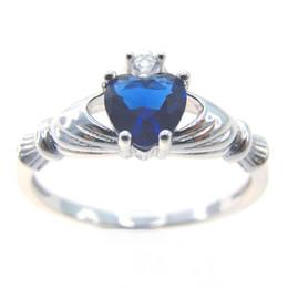 Wholesale Tanzanite Ring Settings - Fashion jewelry 925 SilverRings Tanzanite stone wedding jewelry DR030872R-size5.6.7.8.9.10. Free shipping