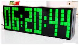 Grande orologio digitale del calendario principale online-Big LED Digital Alarm Clock Backlight Countdown Orologi da parete Calendario Calendario Decorazione orologio