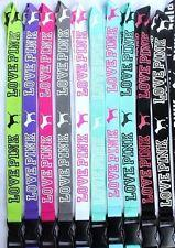 Wholesale Neck Lanyards For Keys - Popular LANYARD LOVE PINK NECK STRAP FOR CELLPHONE KEYS ID Cards
