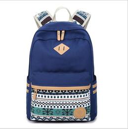 Wholesale Vintage Satchel Bags For Men - 2017 Men Male Canvas Backpack College Student School Backpack Bags for Teenagers Vintage Mochila Casual Rucksack Travel Daypack
