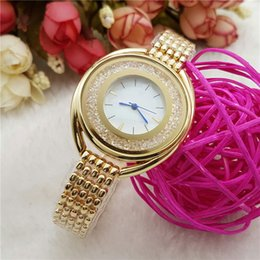 Wholesale Oval Watches For Women - Fashion luxury brand watch Women Rhinestone Quartz watches For Ladies girls Stainless Steel band wristwatches Montre Homme Wtach Wholesale