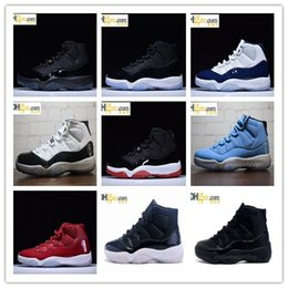 Wholesale Cool Mints - High Quality Retro 11 Space Jam Bred Gamma Blue Basketball Shoes Men Women 11s Concords Legend Blue Cool Grey Sneakers