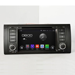Wholesale Car Radios For Bmw - Pure Android 4.4.4 A9 dual-core 1.6G 1 Din 7inch Capacitive Touchscreen Car DVD Player with Canbus For BMW M5 E39 1995-2003 X5 E53 2000-2007