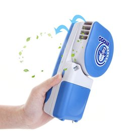 Wholesale Air Fan Bladeless - Snow Man Portable Handheld Mini Cooler USB Rechargeable Battery Operated Mini Air Conditioning Fan Bladeless Fans