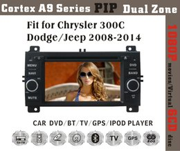"""Wholesale Dodge Dash Tv - 6.2"""" Chrysler 300C Dodge Jeep 2008 2009 2010 2011 2012 2013 2014 Car DVD player with GPS(opt),audio Radio stereo,USB SD,AUX,BT TV,Canbus"""