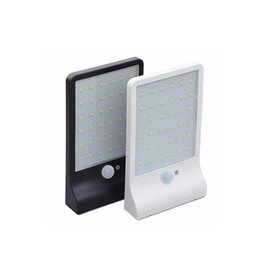 Wholesale Sensor Chip - Waterproof Solar garden light with 36pcs led chip 3.7V 2200mAH 6 hours duration with Daylight + motion sensor CE Approval