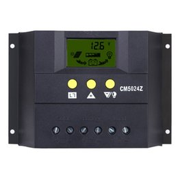Wholesale Charge Controller For Street Light - 30A 12V 24V Solar Charge Controller PWM Charging LCD Display Auto Regulator Battery System for Street Lighting Temperature Compensation