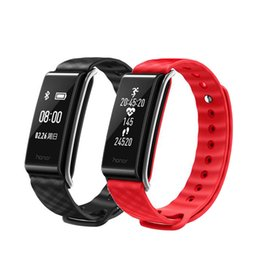 "Wholesale Huawei Honor Outdoor - Huawei Honor A2 Smart Wristband 0.96"" OLED Screen Continual Pulse Heart Rate Monitor Show Message Refuse Call IP67 2602069"