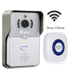 Wholesale Mobile Phone Full Hd - eBELL Home Kit Security HD WiFi Video Doorbell Camera w  Indoor Chime, Support Mobile Phone Unlock, Full Duplex Audio, Night Vision, Alarm