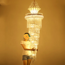 Wholesale Chandeliers Led Dimmable - Modern Crystal Chandeliers LED Gold Chandelier Lighting Fixture Warm White Neutral White Cool White 3 Colors Dimmable Indoor Hanging Lamps