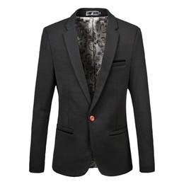 Wholesale Formal Dresses Large Sizes - Wholesale- Men's high quality large size Suit Jackets Business Casual Wedding Party Dresses Formal wear Size M-6XL