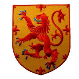 Canada ÉCOSSE LION RAMPANT SHIELD SCOTTISH HERITAGE CREST EMBROIDÉ PATCH4 INCH LIVRAISON GRATUITE cheap embroidered crest patches Offre