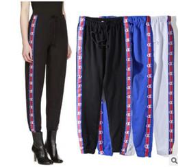 Wholesale Women S Pencil Pants - PALAE SkaCteboard stussy Pants Men Women 100% Cotton Palace Pants Jogger Casual Sweatpants Casual Hip Hop sup Hombre Trousers Pants