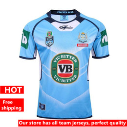 Wholesale Hot sales NSW Origin Jersey Classic New South Wales Blues State of Origin Rugby Jersey New South Wales Blues State Rugby