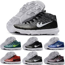 Wholesale Mens Colour Leather - Free shipping new Colour Rainit Chucker Golf Shoes Top Quality Running Shoes Mens Airs Sports Sneakers size 7-12