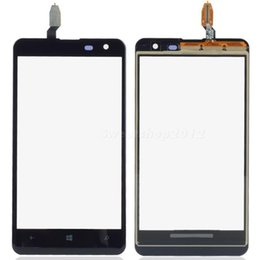 Schermo di tocco lumia 625 online-Nuova parte di ricambio per pannello touch screen digitalizzatore SWTG per Nokia Lumia 625
