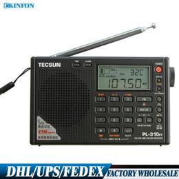 Wholesale Speakers Fedex - Wholesale-Free DHL Fedex 5PCS PL-310ET Stereo Radio Digital Demodulator FM AM SW LW Full Band Radio