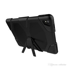Wholesale Tablet Pc Gel Skin Cases - Rugged Armor Hybrid Silica gel + PC Shockproof Back Cover Stand Case for iPad Pro Mini1234 iPad 234 Air 2 Samsung Tab E Tablet