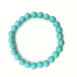 Wholesale Handmade Beaded Bracelets For Sale - Hot sale New Lava Volcanic Turquoise Bracelet Handmade Beads Bracelets Natural Stone Bracelets for Men Women Jewelry