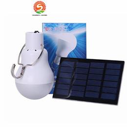 Wholesale Led Bulbs For Street Lights - Solar Powered Led Light Bulb Portable Led Solar Lamp Spotlight With 0.8w Solar Panel for Outdoor Hiking Camping Tent Fishing Lighting