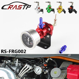 Wholesale Regulator Gauge - RASTP-Free Shipping Adjustable SARD Style Turbo Fuel Pressure Regulator FOR RX7 S13 S14 Skyline WRX EVO W O GAUGE Have In Stock RS-FRG002