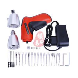 Wholesale Auto Setting - HOT KLOM Cordless Electric Lock Pick Gun Auto Pick Guns Lockpicking Locksmith Tools Electric Lock Pick Gun