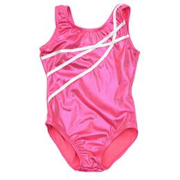 Wholesale Shirred Dress Child - Kids Child Girl Dance Leotard Stretch Bodysuit Gym Ballet Training Dress Clothes for 3-12 Years old girls