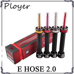 Starbuzz e hose 2.0 vaporisateur 2200mah Starter Kit E Tuyau Vaporisateur Cigarette électronique carré E HEAD DHL gratuit ? partir de fabricateur