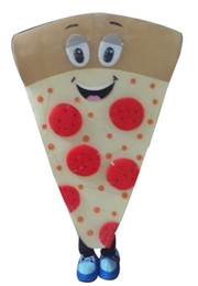 Wholesale Custom Pizza - Pizza Mascot Costumes Cartoon Character Adult Sz 100% Real Picture