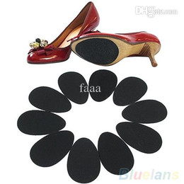 Beschützer für schuhe online-Wholesale-5 Paar Anti-Rutsch-High Heel Schuhe Sohle Grip Protector Rutschfeste Kissen Pads 2MFJ