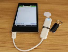 Wholesale Usb Rfid Reader Android - Wholesale- Micro mini ISO 11785 84 RFID reader 125-134.2KHZ ID reader   USB Support Android windows+2pcs RFID tags