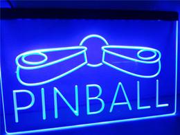 Wholesale Pinball Light - LB797-b Pinball Game Room Display Decor LED Neon Light Sign