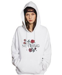 Wholesale White Rose Sweater - New Hot Autumn Ladies Hoodie Rose Floral Long Sleeved Sweater Letter Printed Women's Sweatshirt