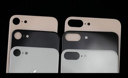 Wholesale Iphone Back Housing Glass - Original quality For iPhone X 8 8p plus Back Battery Cover Rear Glass Housing Case Replacement with Adhesive