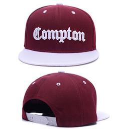 Wholesale snapback hats compton - 2017 Brandnew Snapback hats PRAY FOR COMPTON PROPERTY OF JAMAICA BONJOUR BROOKLYN Casquettes gorras bones baseball caps