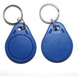 Wholesale Factory Labels - Cheapest Factory price make TK4100 EM4100 125khz 100pcs lot ISO11785 ABS RFID Membership Loyalty key tags Custom key Label Tags fob