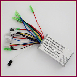 Wholesale Battery Scooters - Wholesale- 2016 HOT SALE 36V 250W Universal brushless BLDC motor controller lithium Battery for Electric Scooter