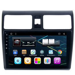 """Wholesale Car Gps Dvd Swift - 9"""" Android 6.0 System Car DVD Player For Suzuki Swif with Quad Core CPU GPS Navi BT 4.0 SWC OBD DVR WIFI 4G LTE Mirror Screen Radio RDS"""