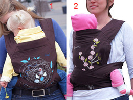Wholesale Minizone Carrier - Retail MEI TAI 3 in 1 Baby Carrier Carry Baby Carrier Sling Rider Coffee Minizone carrier