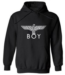 Wholesale London Hoodie - New Punk Style London Boy Hawks Printed Hoodies Men Full Sleeve Sweatshirts Autumn Winter Fashion Male Rock Hip Hop Pullovers Hot