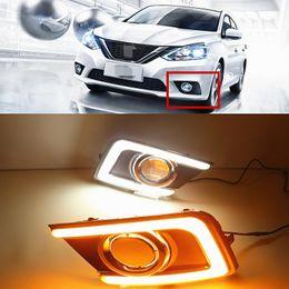 Wholesale Daytime Running Led Nissan - Car Flashing 2pcs For Nissan Sentra 2016 2017 LED DRL Daytime Running Lights Daylight Waterproof Signal lamp car Style light