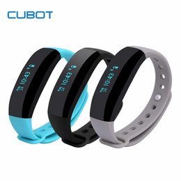 Wholesale Cubot Android - CUBOT V2 Smart band Waterproof IP65 Bracelet for Android Samsung and IOS Apple Heart Rate Monitor real time GPS Sports Wristband PK miband