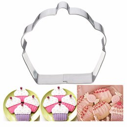 Wholesale Christmas Stainless Steel Mold - Kitchen Baking Accessories Lovely Dessert Shape Cake Mold Stainless Steel Fondant Mold Christmas Cake Decorating Tools T07