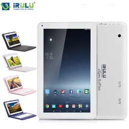 Wholesale US Stock iRULU quot eXpro X1Plus Tablet PC Allwinner A33 Android6 GB GB GB Bluetooth4 With quot Keyboard Case