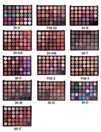 Wholesale Eyeshadow Logo - NO-LOGO 35colors eyeshadow 35O, 35A, 35D,35F,35P,35N,35OM,35OS Eyeshadow Palette