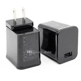 Wholesale Travel Power Adapter Usb Tablet - For Samsung Tablet Wall Charger P1000 US Plug Universal USB Home Wall Travel Cell Phone Laptop Charger Power Adapter 100pcs No Package
