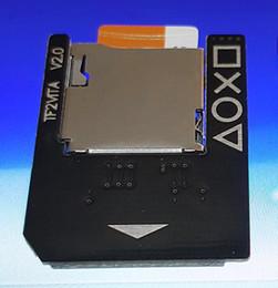 spielkartenadapter Rabatt Für PSVita Spiel Karte zu Micro SD / TF Karte Transfer Adapter für PSVita SD2Vita 1000 2000 3.60 Push to Eject