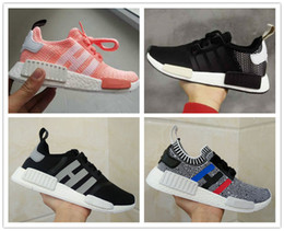 Wholesale Silver Fabric Table Runner - 2017 Cheap Wholesale Hot NMD R1 W Primeknit PK Perfect Authentic NMD XR1 Sneakers Fashion Running Shoes NMD Runner Primeknit Sneakers 36-45